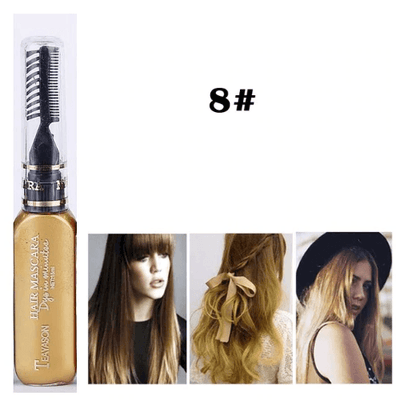 Temporary Hair Color Mascara oupseven Gold