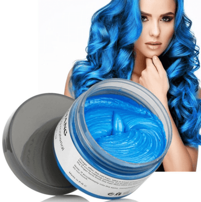 Mofajang Hair Dye Wax oupseven Blue