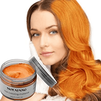 Mofajang Hair Dye Wax oupseven Orange