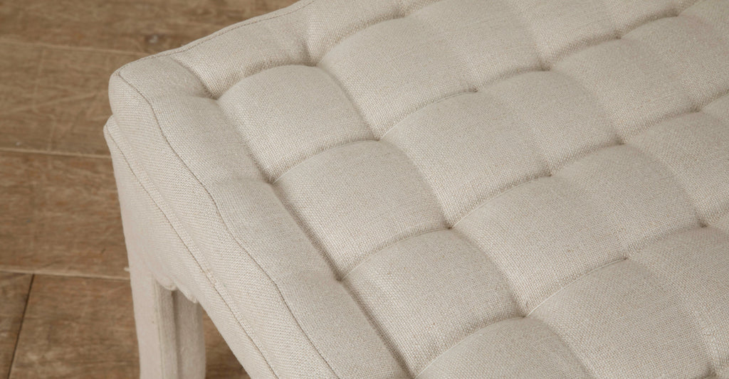 TP End of Bed Bench - French Mattress stitching