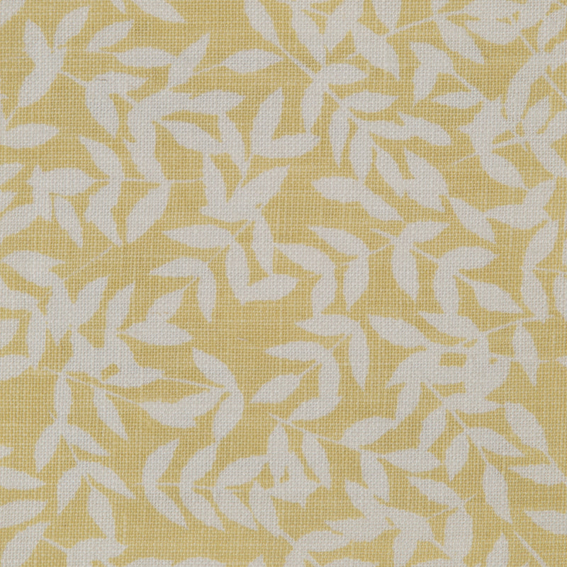 Ellensleaf in Yellow | The Kew Fabric Collection | Lorfords