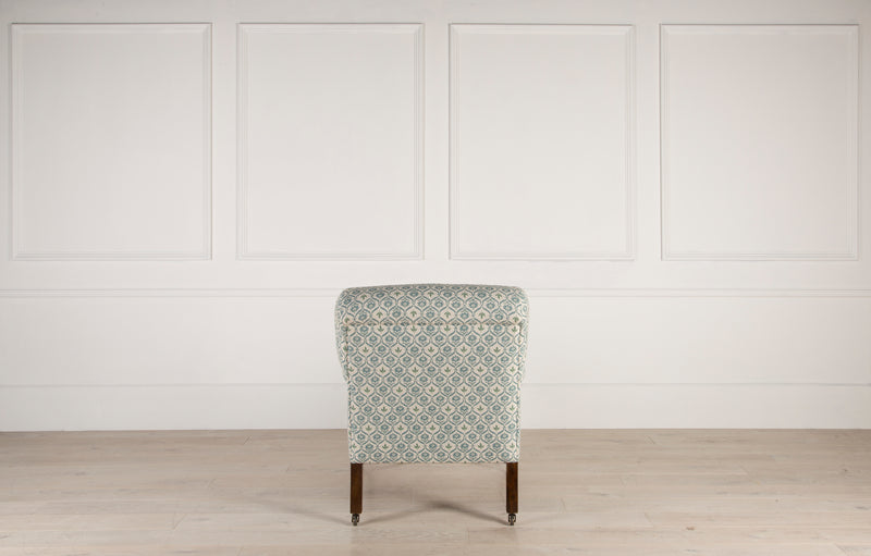 Lorfords Created | Bayswater Chair | Lorfords ticking | Traditional Upholstery | Handmade | Cotswolds | Armchair