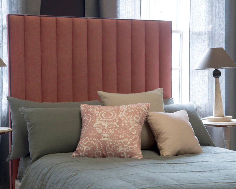 Bespoke Fluted Headboard | Photoshoot Model