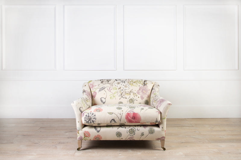 Lorfords Created | Elmstead Loveseat  | Meadow | Traditional Upholstery | Handmade | Cotswolds