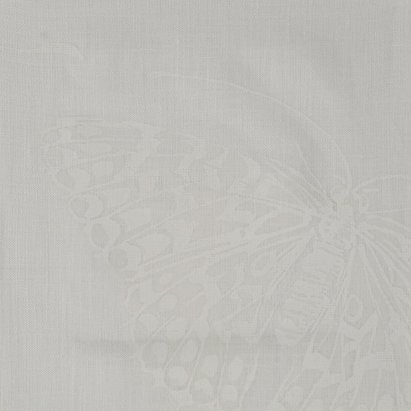 Mariposa White on White | The Kew Fabric Collection | Lorfords