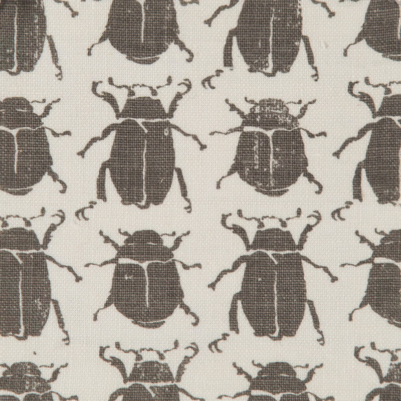 Scarab in Charcoal | The Kew Fabric Collection | Lorfords