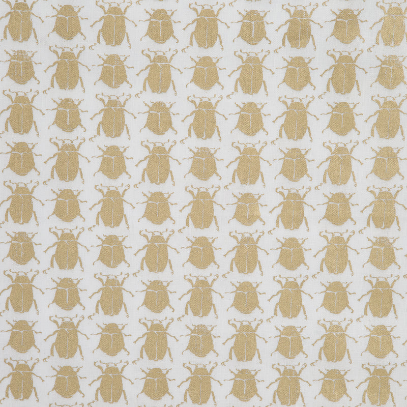 Scarab in Gold | The Kew Fabric Collection | Lorfords
