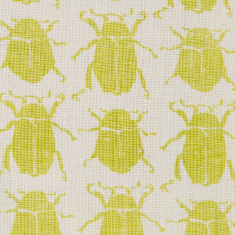 Scarab in Lime | The Kew Fabric Collection | Lorfords