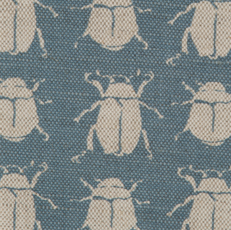 Scarab Reverse in Denim | The Kew Fabric Collection | Lorfords