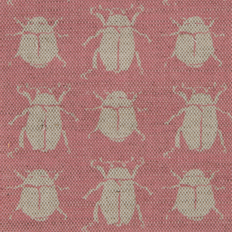 Scarab Reverse in Pink | The Kew Fabric Collection | Lorfords