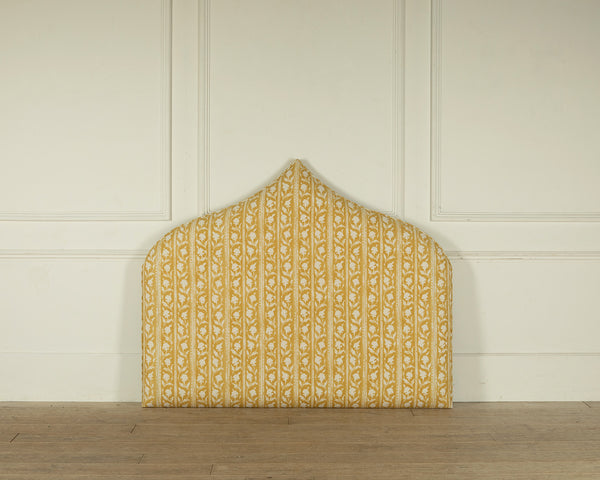 The Moroccan Headboard a sunny upholstered headbaord