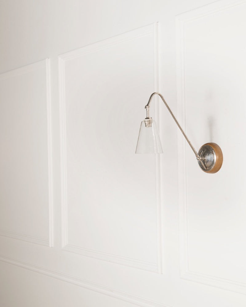 Wall Light | Glass Shade | The Heston | Lorfords