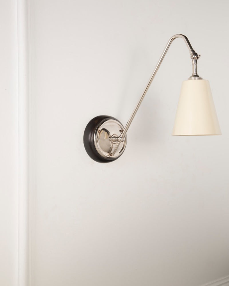 Wall Light | White Shade | The Heston | Lorfords