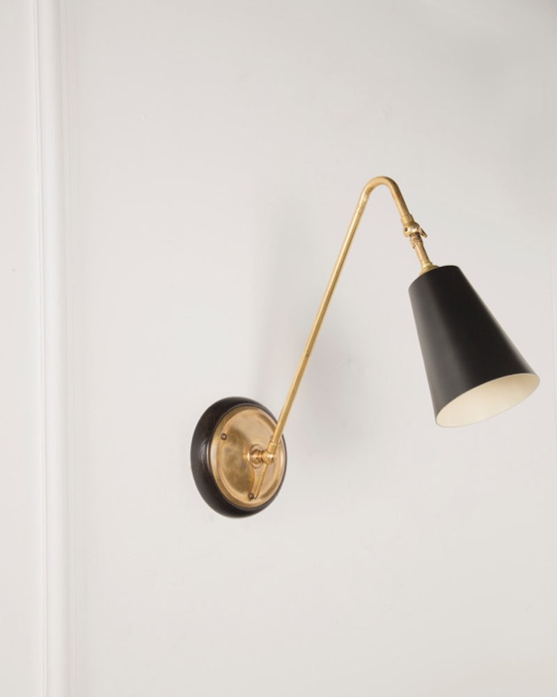 Wall Light | Brass Finish | The Heston | Lorfords