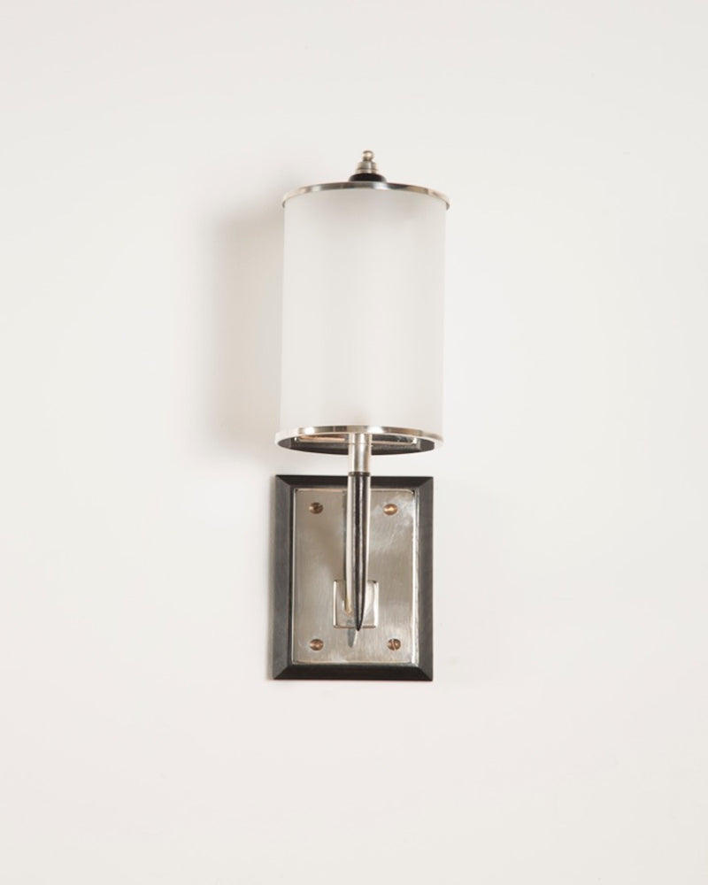 Wall Light | The Osterley | Silver Plated | Lorfords