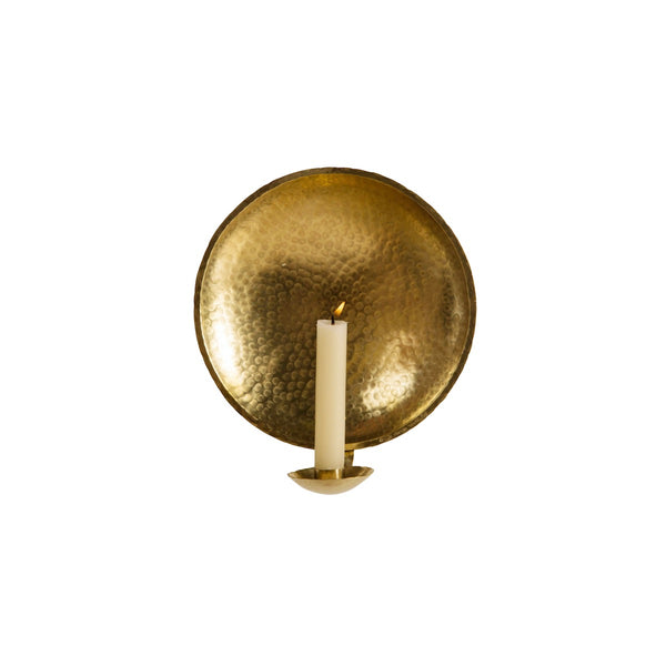 Small Brass Candle Sconce