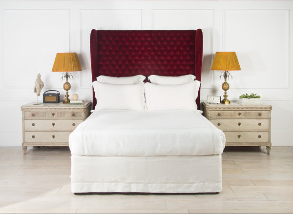 Luxury Upholstered Headboard | The Berlin | Deep Buttoned | Lorfords