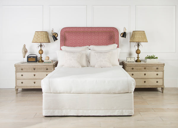 Upholstered Headboard | The Amalfi Studded | Lorfords