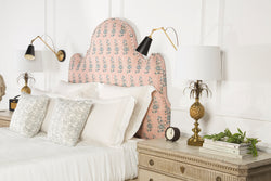 Upholstered Headboard | Studded | The Jaipur | Lorfords