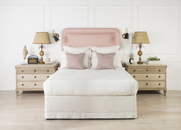 Upholstered Headboard | The Amalfi Piped | Lorfords