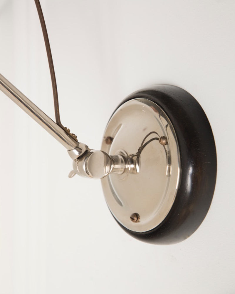 Adjustable Wall Light | Ebonised Oak | The Hoxton | Lorfords