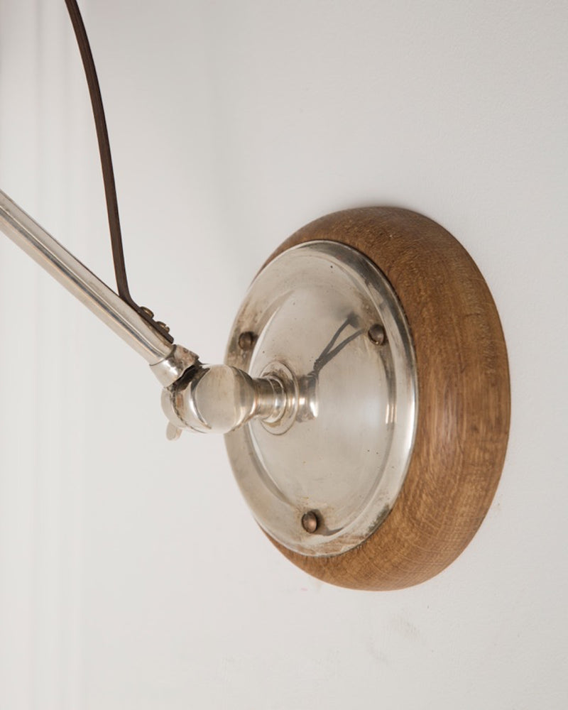 Adjustable Wall Light | Oak | The Hoxton | Lorfords