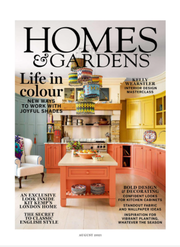 Homes and Gardens Magazine, August 2021