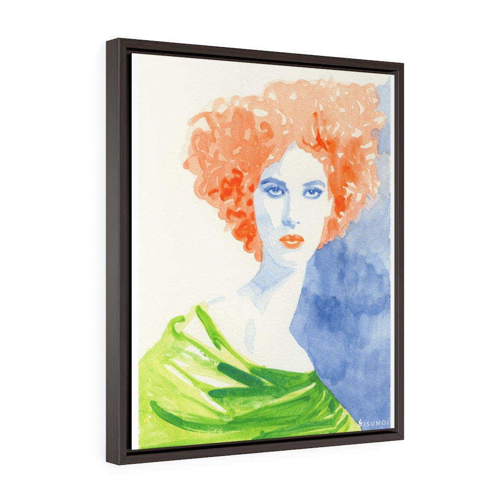 Vertical Framed Premium Gallery Wrap Canvas - S I S U M O I