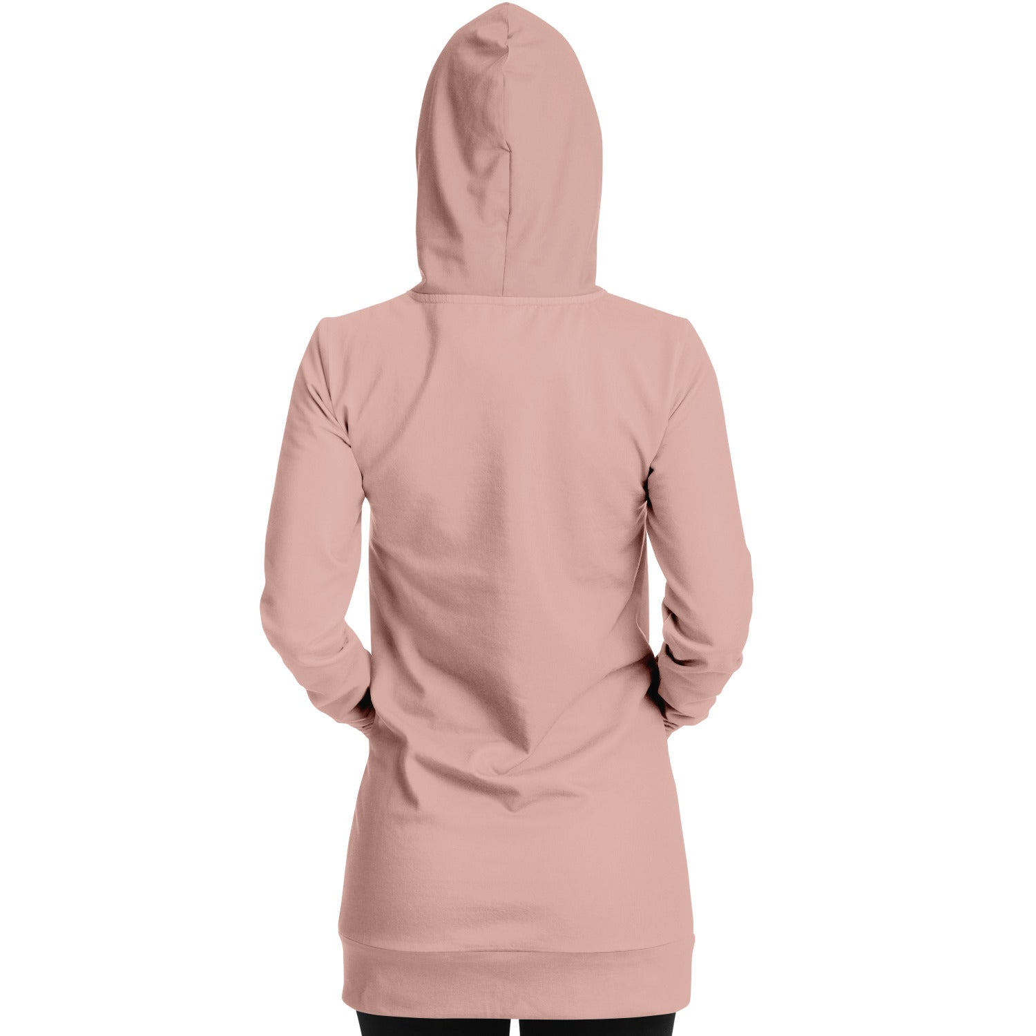 Coral Rose Senorita Hoodie Dress - S I S U M O I