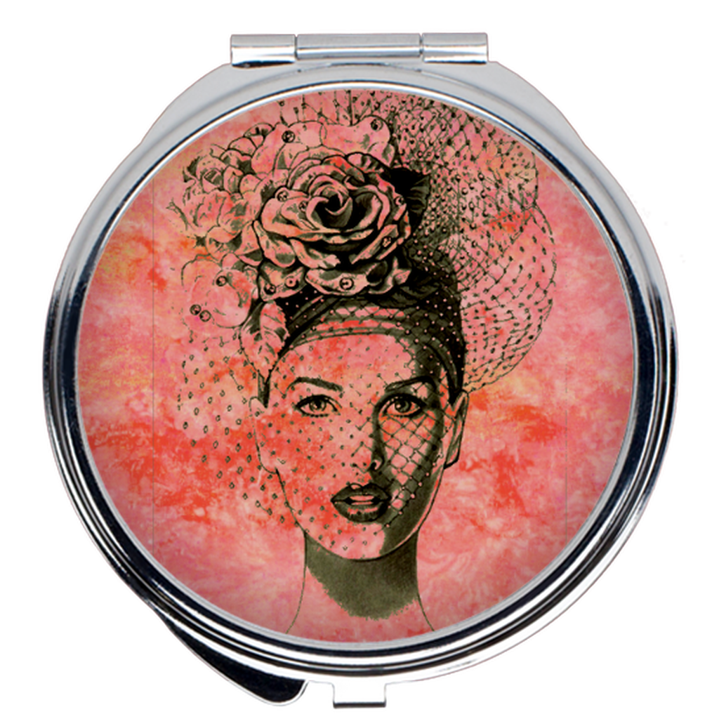 Pucker Up Compact Mirror - S I S U M O I