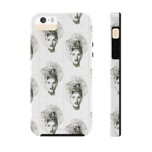 """Rose Hat"" Case Mate Tough Phone Case - S I S U M O I"
