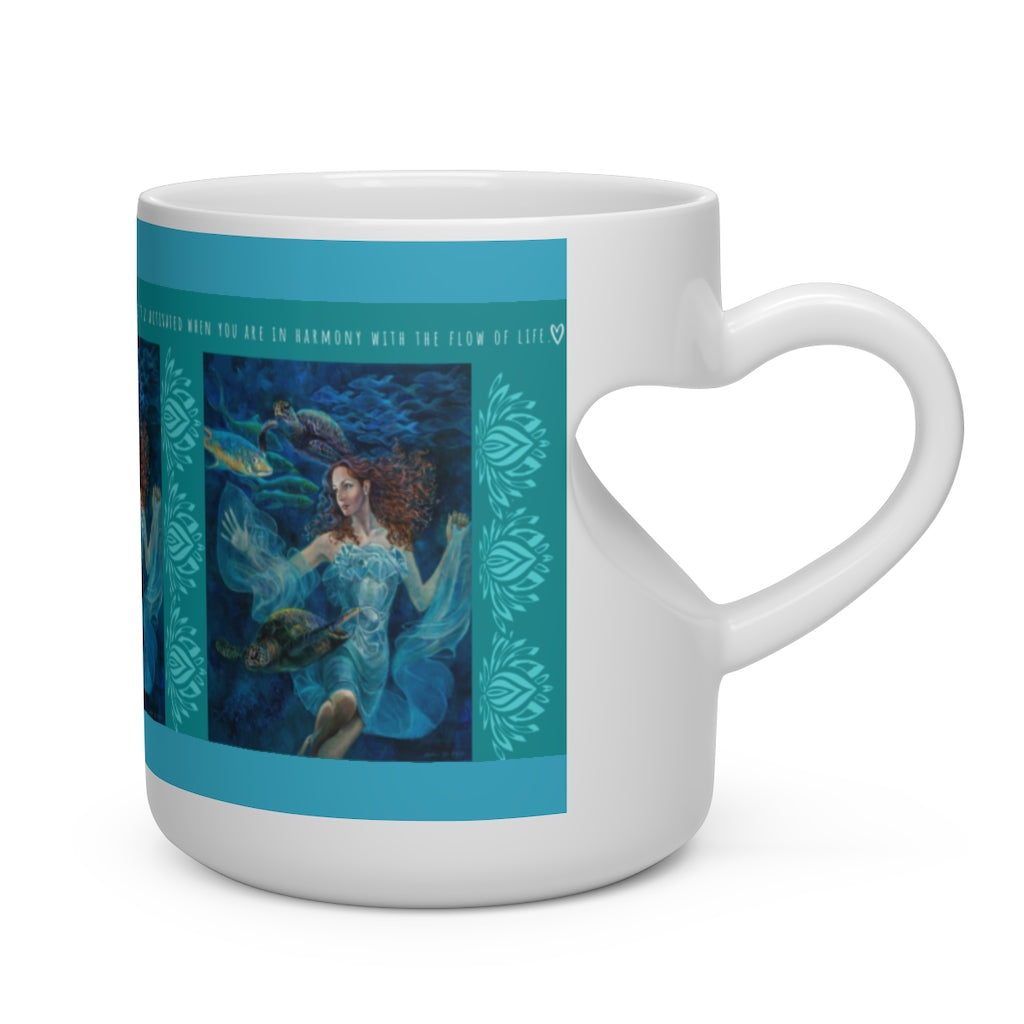 """Aquatic Highway"" Love Mug - S I S U M O I"