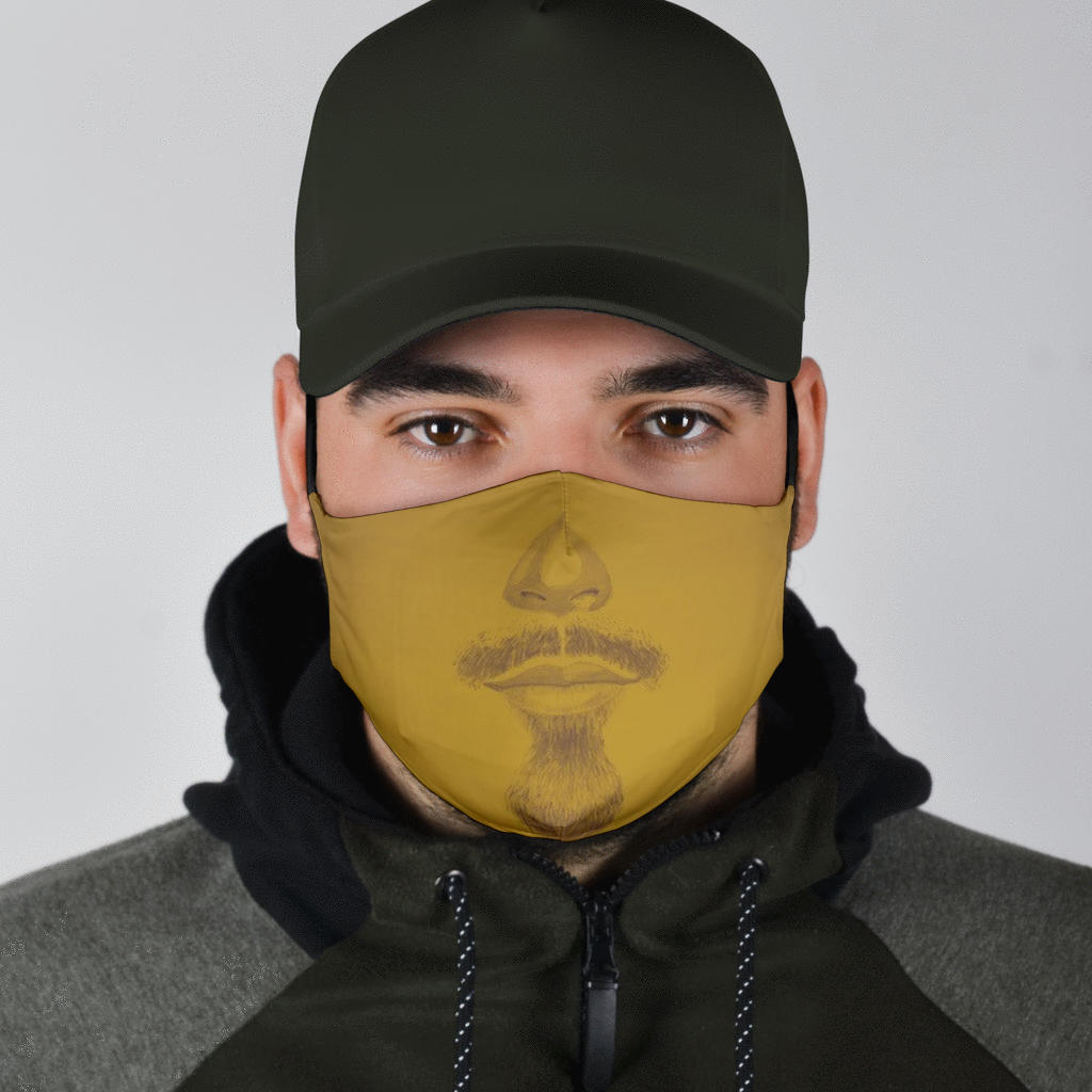 Glamsome Beard Mask Collection | Adult + Youth - S I S U M O I