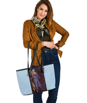 """The Glam and The Muscular"" Large PU Leather Tote (Includes Expedited Shipping) - S I S U M O I"