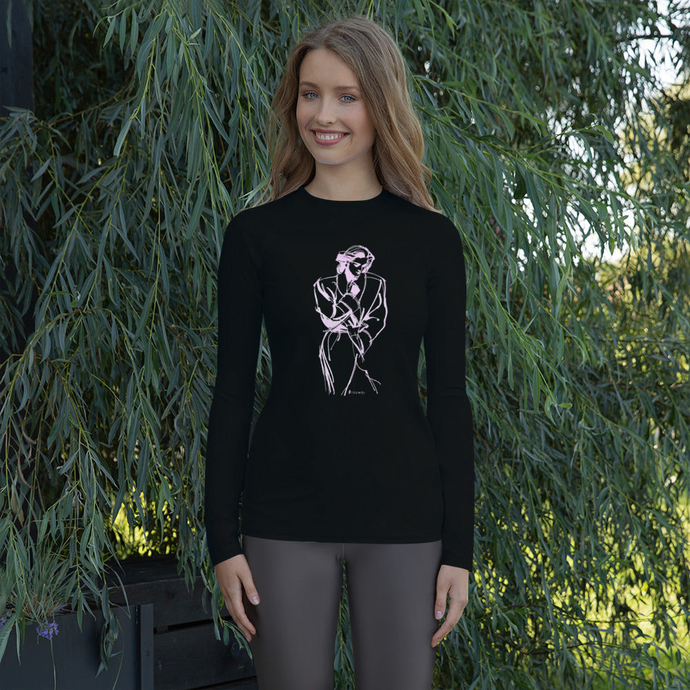 """Overcoat"" Women's Rash Guard - S I S U M O I"