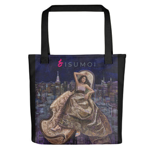 "Sisumoi's ""Manhattan Night Flight"" Tote Bag - S I S U M O I"