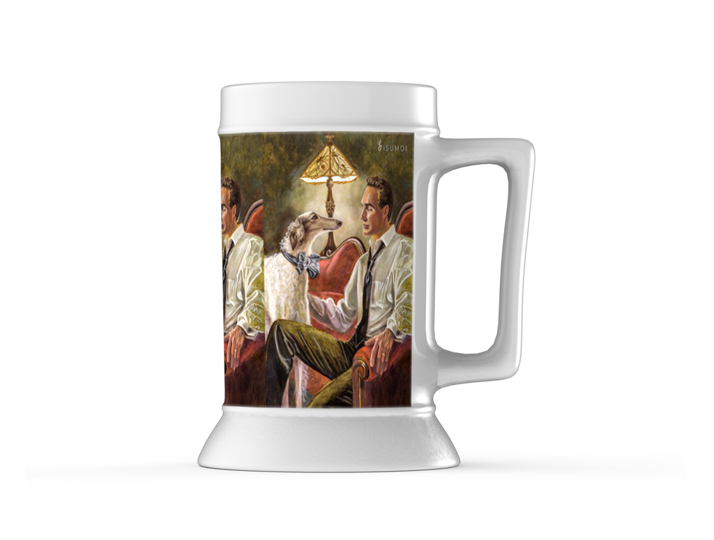 """Best Friend's Rendezvous"" Beer Stein - S I S U M O I"