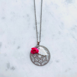 Flower Filigree Necklace