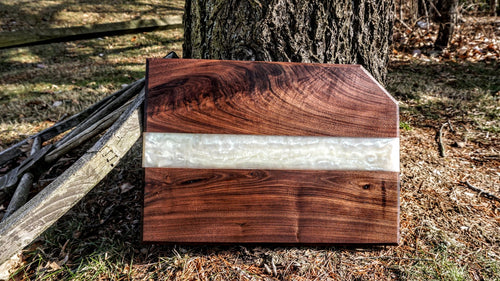 Handcrafted Tuxedo cutting board v 2.0 - Cal-Tex Designs