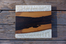 Load image into Gallery viewer, [Set of (4) Wood and Resin Bottle Opener Coaster] - Cal-Tex Designs wood resin bottle opner coaster