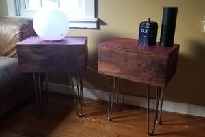 Pandorica Nightstand/End Table/Bedside table - Cal-Tex Designs