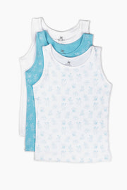 Fun Kitties Vests 3 Pack - Shop Organic kids clothing, sheets, bedding, pyjamas, underwear & more