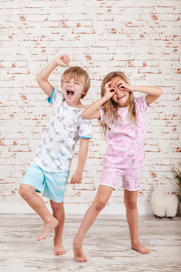 """FREE WHALES"" - Shop Organic kids clothing, sheets, bedding, pyjamas, underwear & more"
