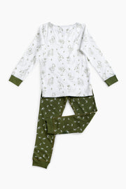 """BUSY DINOS"" - Shop Organic kids clothing, sheets, bedding, pyjamas, underwear & more"