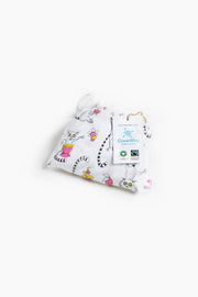 "100% Organic & Fairtrade Certified Cotton Pyjama Set ""PLAYFUL LEMURS"""
