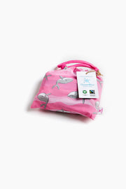 "100% Organic & Fairtrade Certified Cotton Pyjama Set ""HAPPY HUMPBACKS PINK"""