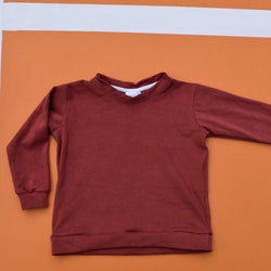 The Bounce Sweater - Licorice