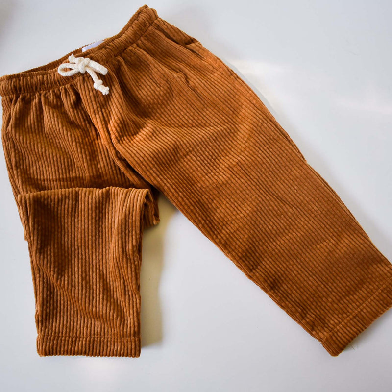 Limited Edition Cord Pant - Caramel