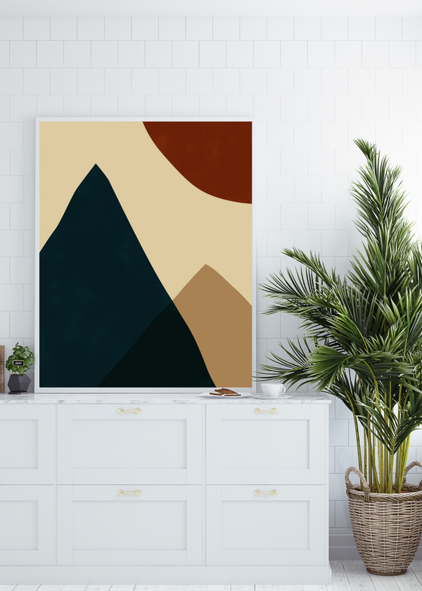 Mountain Moon Print