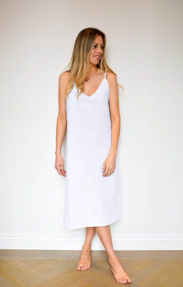 Clay Dress - White